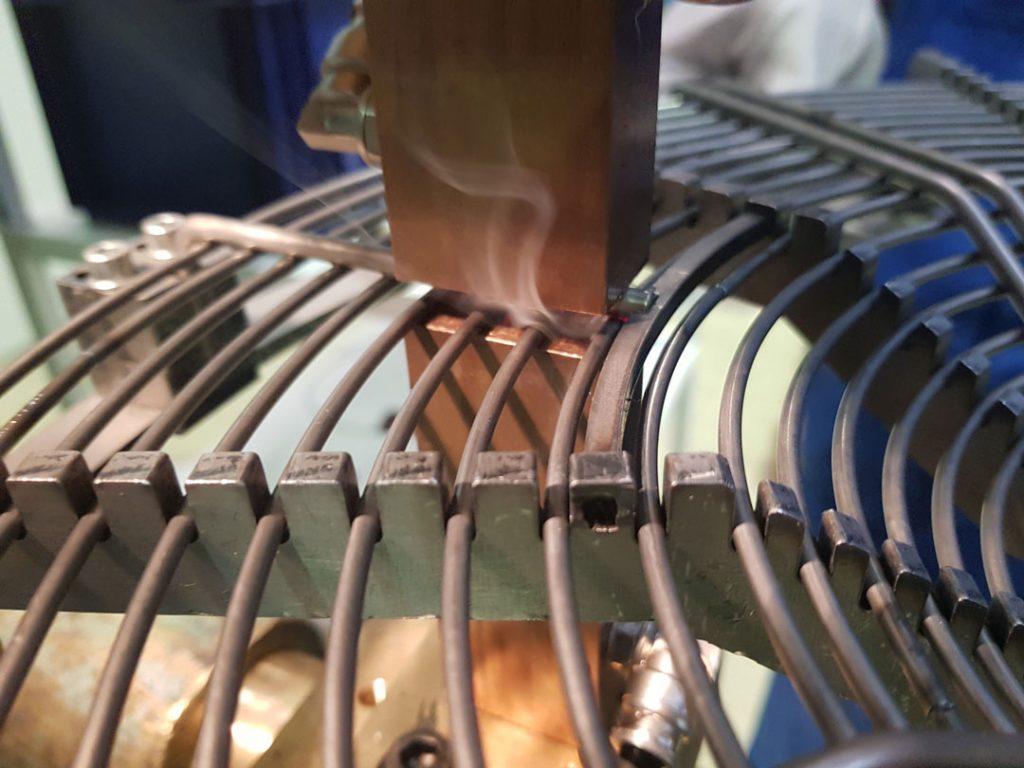 točkovno varjenje žice